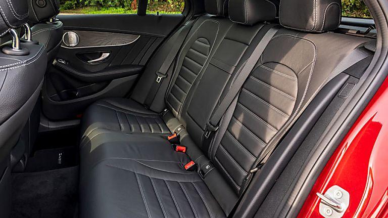 2020 Mercedes-Benz C 300 e PHEV Estate Interior Rear