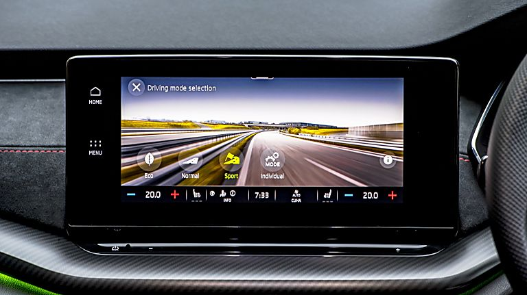 SKODA: The all-new Octavia vRS Infotainment