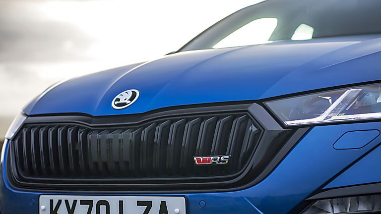 SKODA: The all-new Octavia vRS Front Badge