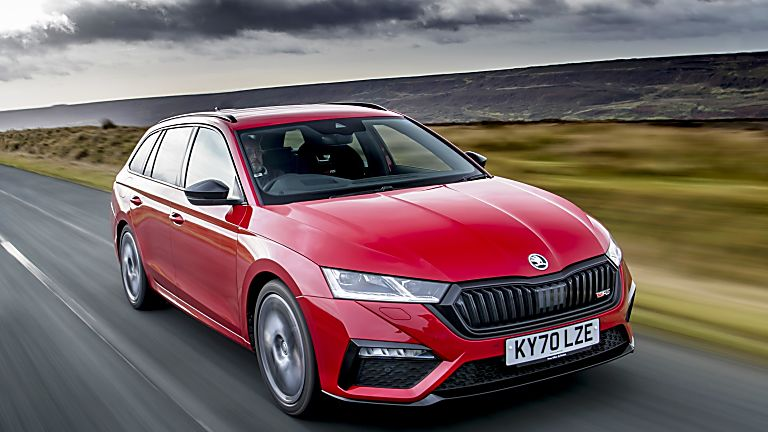 SKODA: The all-new Octavia vRS Front