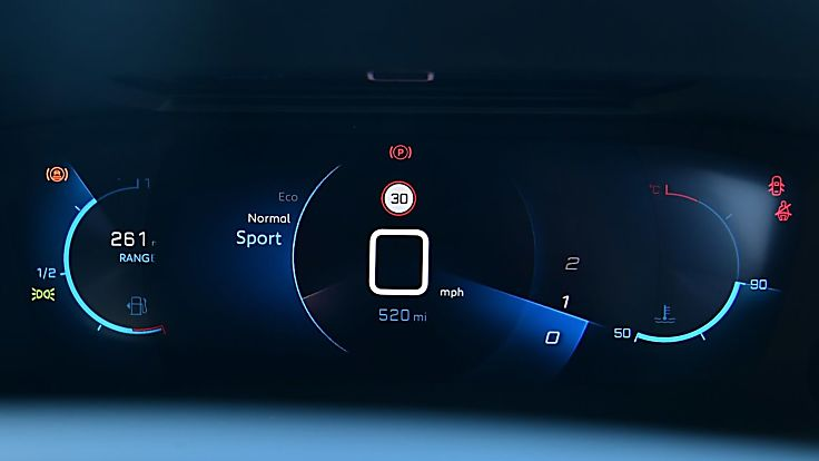 Review: 2020 Peugeot 2008 Dashboard