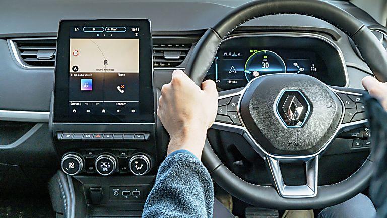RENAULT: New ZOE Venture Edition trim level announced Cockpit