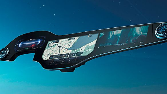 MERCEDES-BENZ: New EQS to get full-width MBUX Hyperscreen Wide