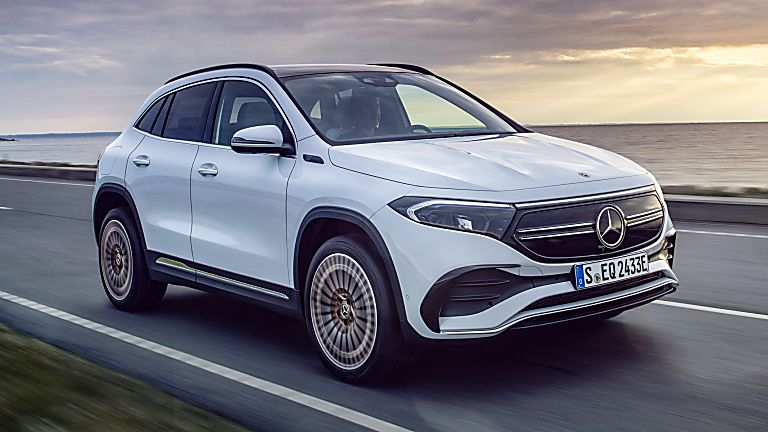 MERCEDES-BENZ: All-electric EQA finally revealed Hero Front