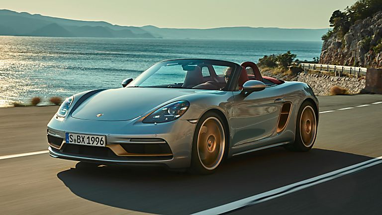 PORSCHE: 718 Boxster gains 25 Years anniversary edition Hero Front