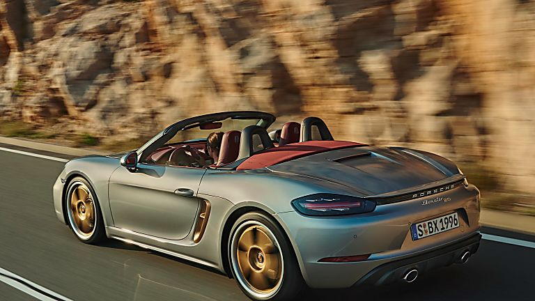 PORSCHE: 718 Boxster gains 25 Years anniversary edition Rear