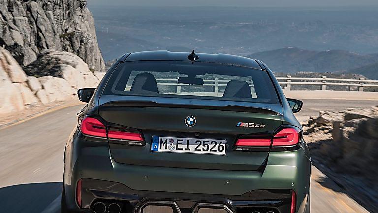 BMW's perfect storm: The new 626bhp M5 CS Rear