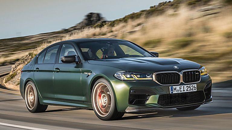 BMW's perfect storm: The new 626bhp M5 CS Hero Front