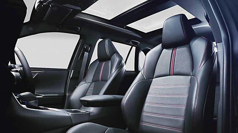 Review: 2021 Toyota RAV4 Plug-in Hybrid Interior Front