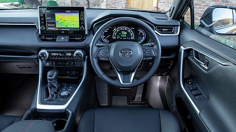 Review: 2021 Toyota RAV4 Plug-in Hybrid Cockpit