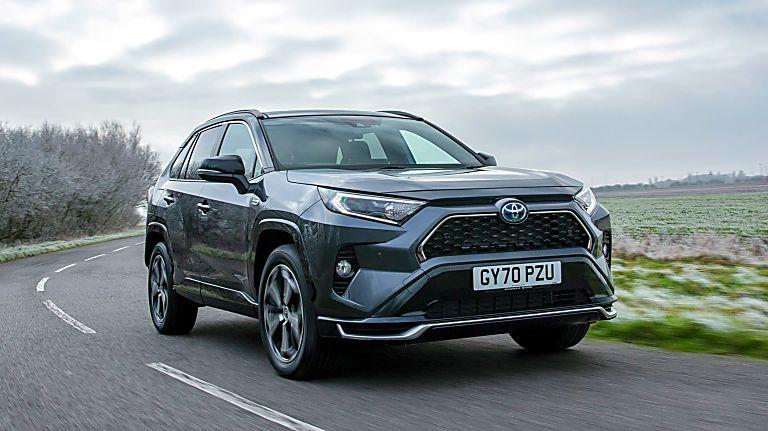 Review: 2021 Toyota RAV4 Plug-in Hybrid Hero Front