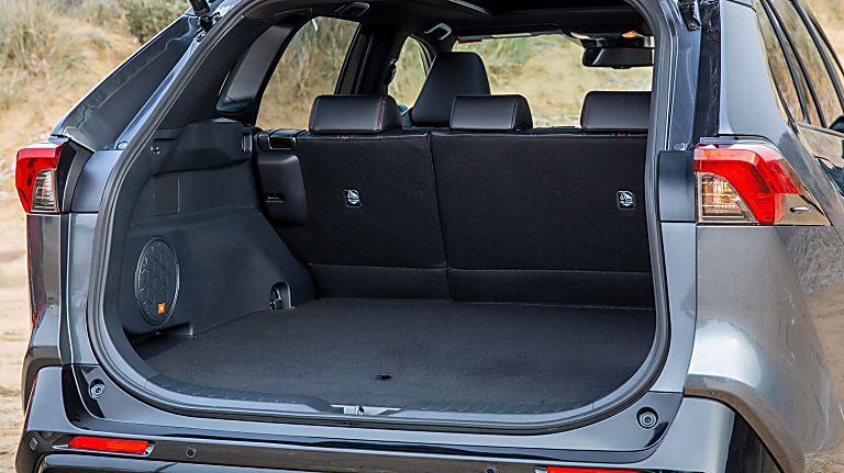 Review: 2021 Toyota RAV4 Plug-in Hybrid Boot