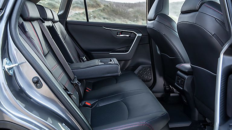 Review: 2021 Toyota RAV4 Plug-in Hybrid Interior Rear