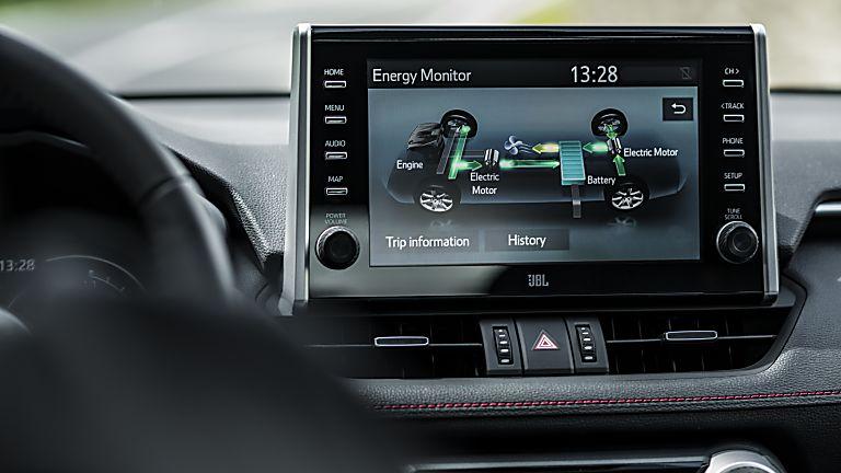 Review: 2021 Toyota RAV4 Plug-in Hybrid Infotainment