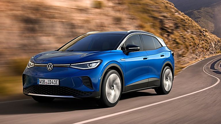 VOLKSWAGEN: Order books open for ID.4 electric SUV Hero Front