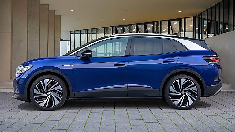 VOLKSWAGEN: Order books open for ID.4 electric SUV Hero Side