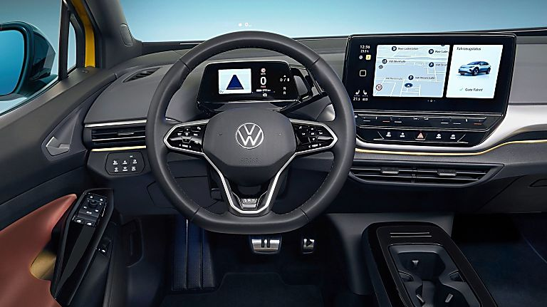 VOLKSWAGEN: Order books open for ID.4 electric SUV Dashboard