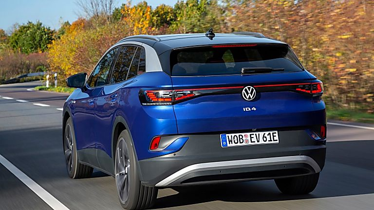 VOLKSWAGEN: Order books open for ID.4 electric SUV Hero Rear