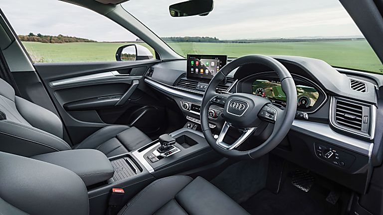 Review: 2021 Audi Q5 'Edition 1' Interior Front