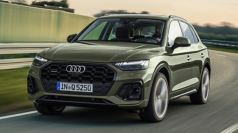 Review: 2021 Audi Q5 'Edition 1' Hero Front