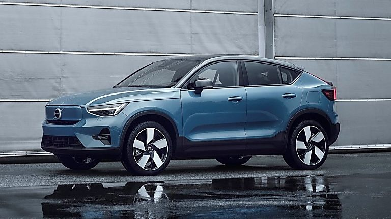 VOLVO: New C40 Recharge EV coming to the UK - Hero Side