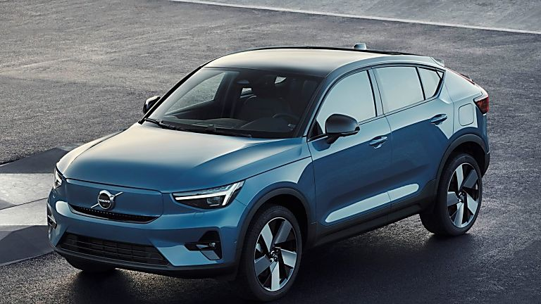VOLVO: New C40 Recharge EV coming to the UK - Hero Front