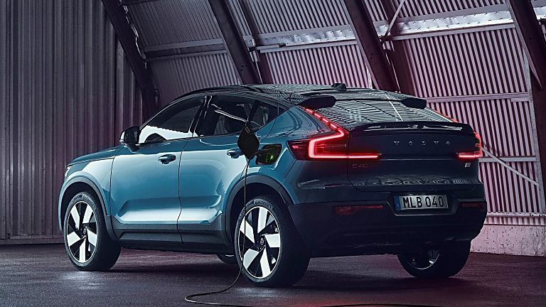 VOLVO: New C40 Recharge EV coming to the UK - Rear