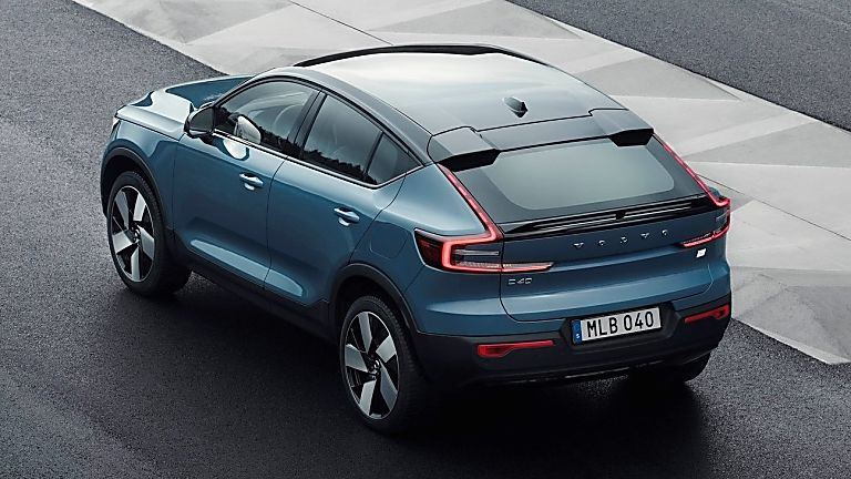 VOLVO: New C40 Recharge EV coming to the UK - Hero Rear