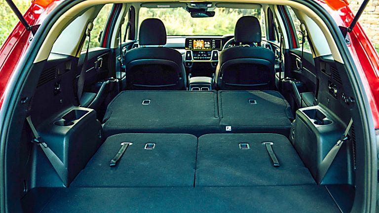 Review: 2021 KIA Sorento Hybrid - Boot Seats Down