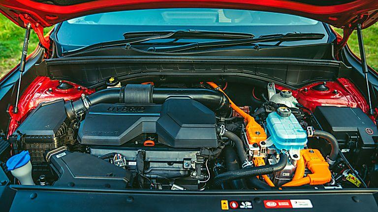 Review: 2021 KIA Sorento Hybrid - Engine