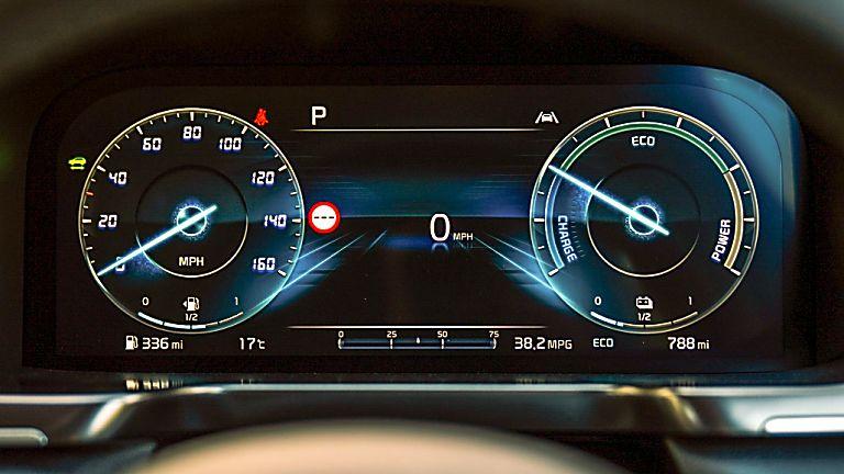 Review: 2021 KIA Sorento Hybrid - Dashboard