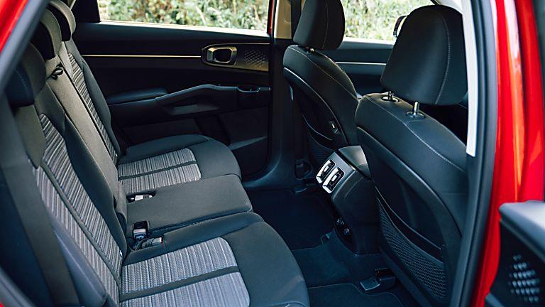 Review: 2021 KIA Sorento Hybrid - Interior Rear