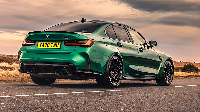 BMW: New M3 and M4 Competition siblings on sale now Hero M3 Rear