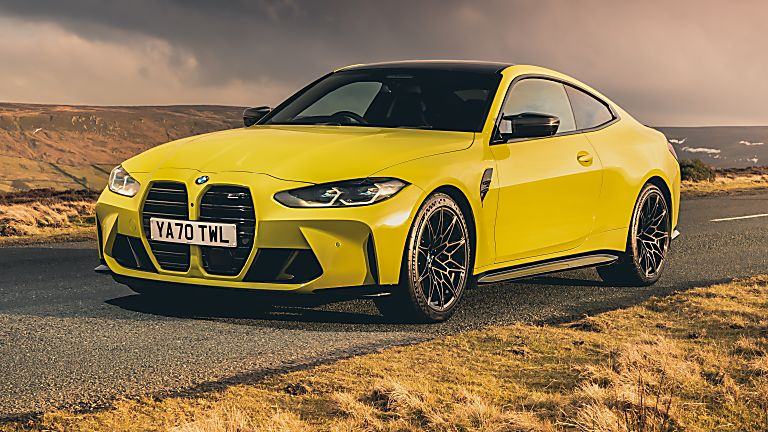 BMW: New M3 and M4 Competition siblings on sale now Hero M4 Front