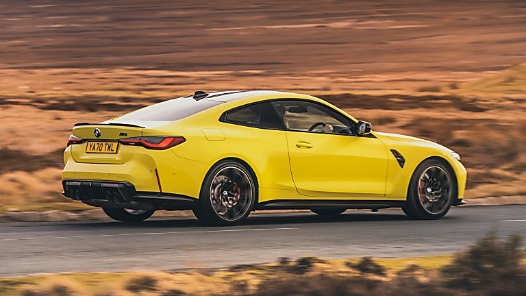 BMW: New M3 and M4 Competition siblings on sale now Hero M4 Rear