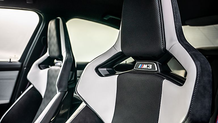 BMW: New M3 and M4 Competition siblings on sale now Interior Sports Seats