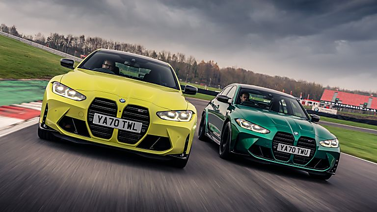 BMW: New M3 and M4 Competition siblings on sale now Hero Front