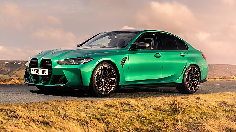BMW: New M3 and M4 Competition siblings on sale now Hero M3 Front