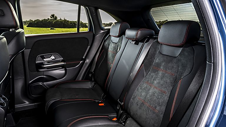 Mercedes-Benz GLA 250 e PHEV Interior Rear