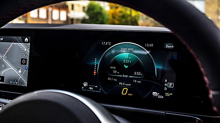 Mercedes-Benz GLA 250 e PHEV Dashboard