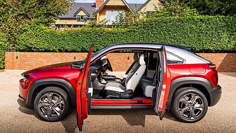 Review: Mazda MX-30 EV Side Open