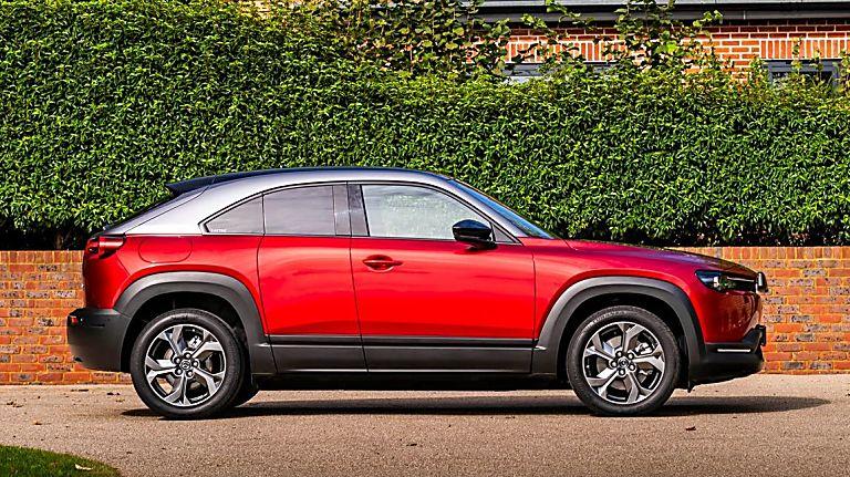 Review: Mazda MX-30 EV Side