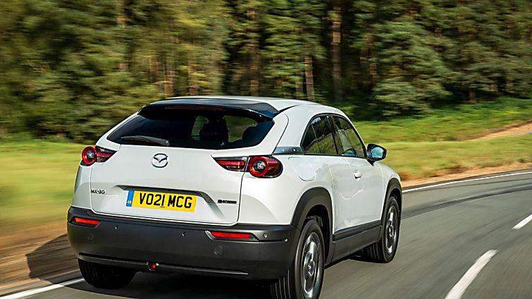 Review: Mazda MX-30 EV Hero Rear