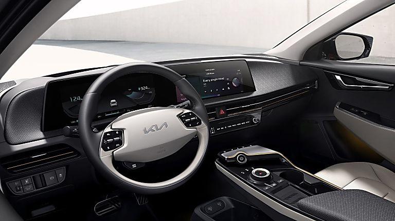 KIA: All-new EV6 electric car now on sale - Cockpit