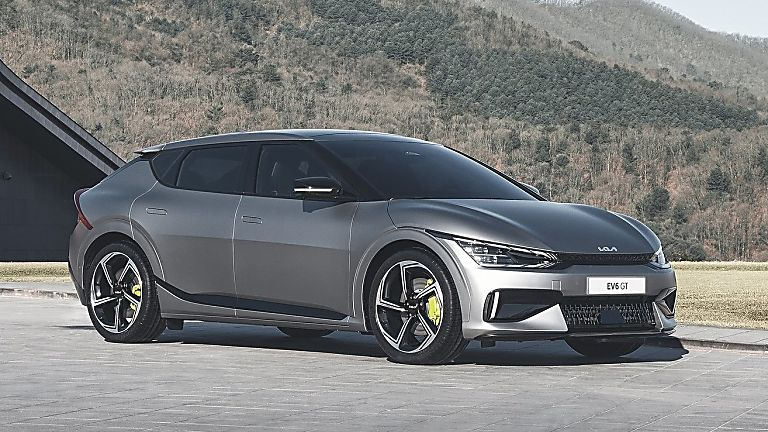 KIA:  All-new EV6 electric car now on sale - Hero Front