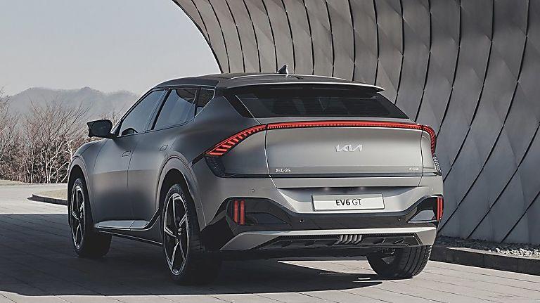 KIA: All-new EV6 electric car now on sale - Hero Rear