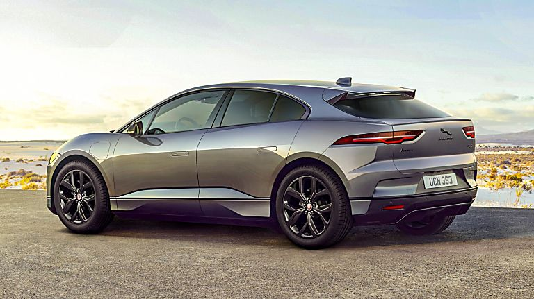 JAGUAR: All-electric I-Pace gets two new 'Black' models - Hero Rear