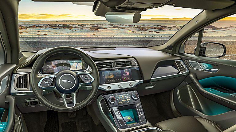 JAGUAR: All-electric I-Pace gets two new 'Black' models - Interior