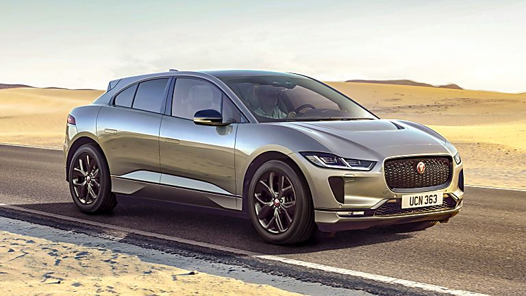 JAGUAR: All-electric I-Pace gets two new 'Black' models - Hero Front