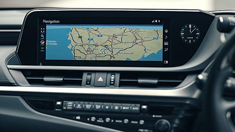 Review: Lexus ES300h saloon - Infotainment